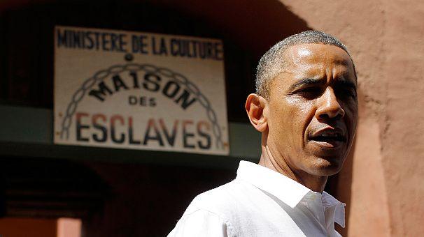 Visite symbolique de Barack Obama sur l'île sénégalaise de Gorée