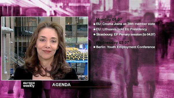 برنامج يوروب ويكلي في الاسبوع الاخير من شهر حزيران يونيو