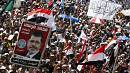Thousands urge Egypt's President Mursi to resign