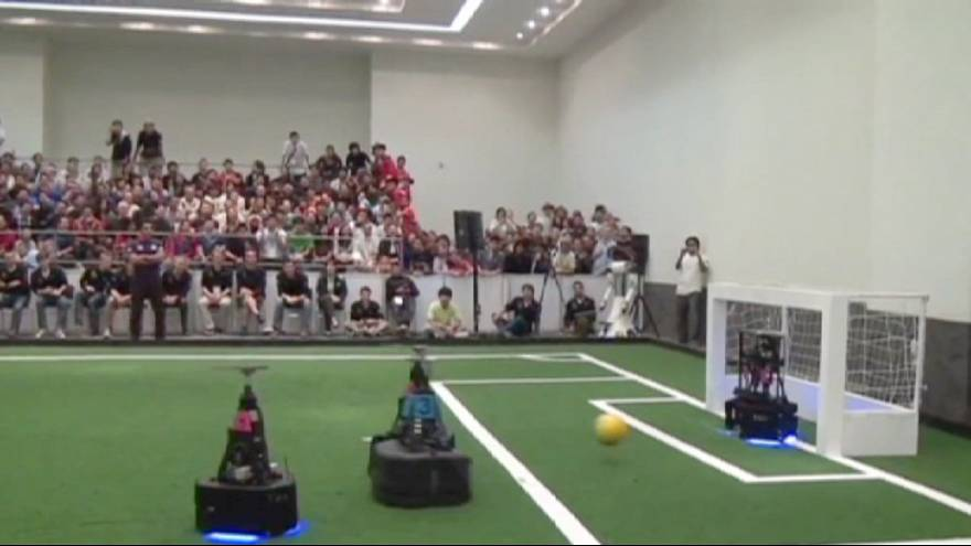 Japan and Germany win football's 'RoboCup' 2013