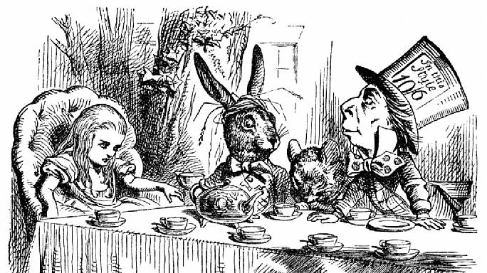 Back in the Day: Lewis Caroll tells Alice about Wonderland
