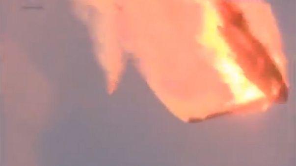 Une fusée russe explose en plein lancement