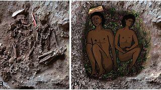 12 ezer éves sírokat találtak Izraelben