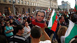 A bolgár kormány lemondásáért tüntetnek