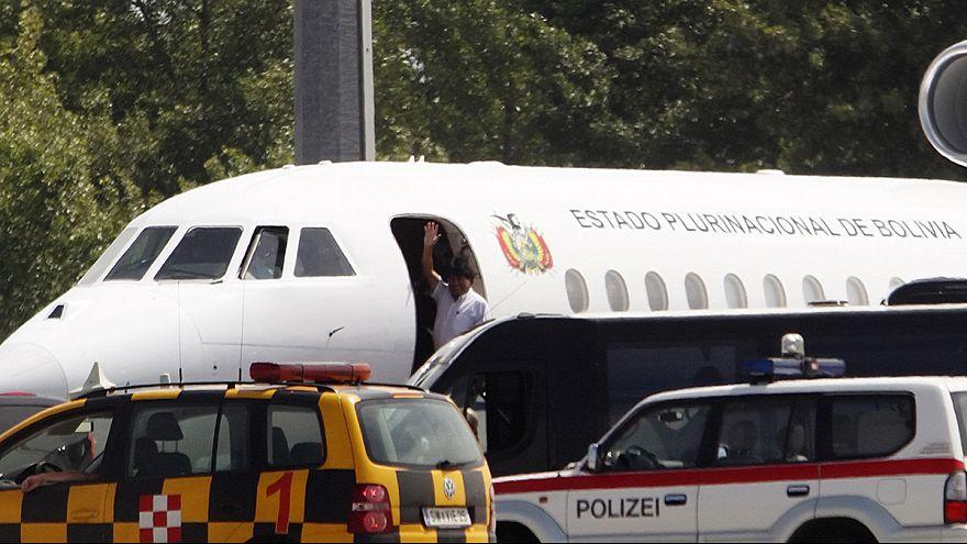 Morales a quitté l'Europe après une nuit de confusion