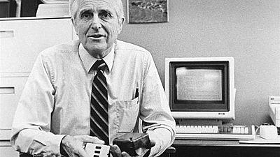 Le père de la souris d'ordinateur Douglas Engelbart est mort