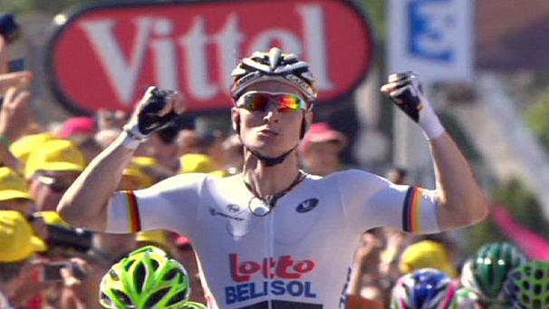 Tour de France: Greipel wins stage six