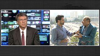 L'esultanza del popolo egiziano dopo la caduta di Morsi