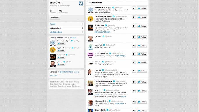 Do you follow? Twitter translates Egyptian accounts into English
