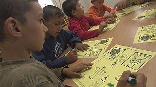 Educação, a chave para a integração da comunidade Rom
