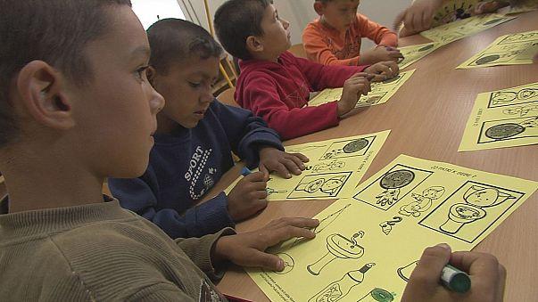 Intégrer les Roms via l'éducation