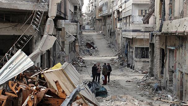 Syrian opposition appeal for western intervention in Homs
