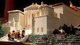 Μια Ακρόπολη χτισμένη με 120.000 Lego!!!