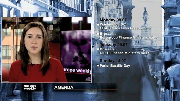 برنامج يوروب ويكلي في الاسببوع الاول من شهر تموز يوليو