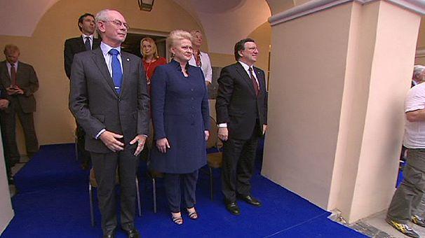 Vilnius handed EU presidency as a public trust plummets