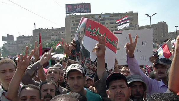 Mursi supporters rally in Egypt