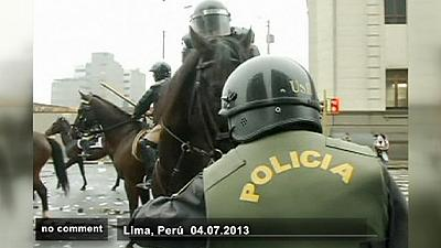 Peru: clashes over new law – nocomment