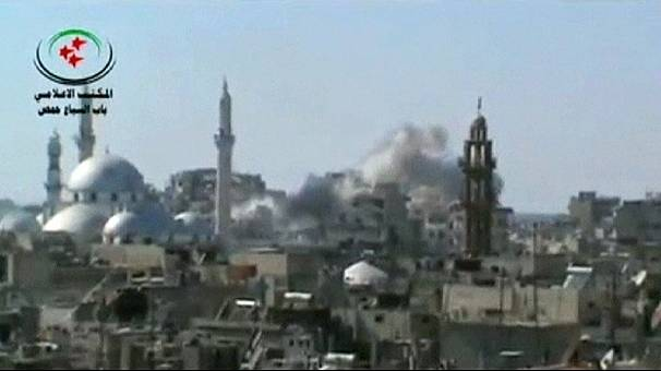 Syrian opposition offers a Ramadan truce for the besieged city of Homs