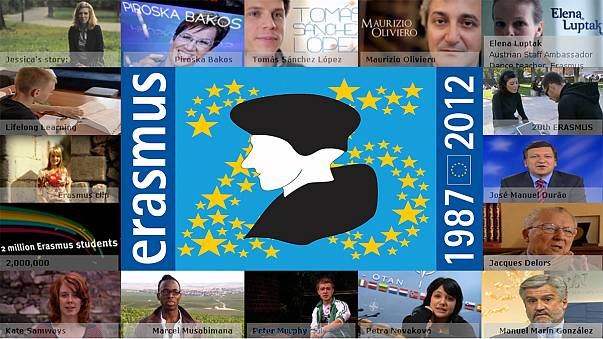 Record year for Erasmus exchanges