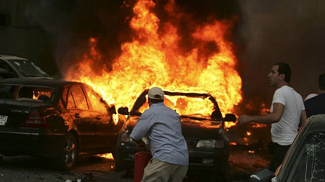 Merénylet Bejrútban
