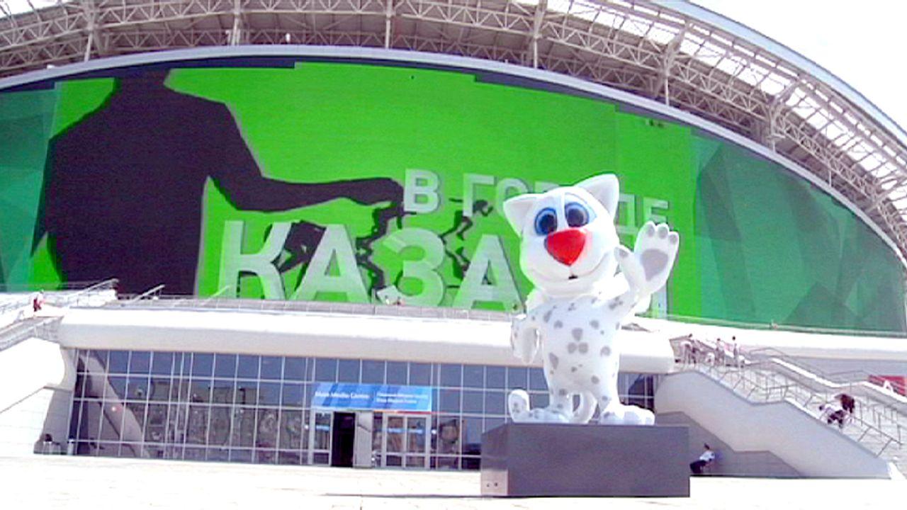 Kräftemessen in Kasan bei der Universiade