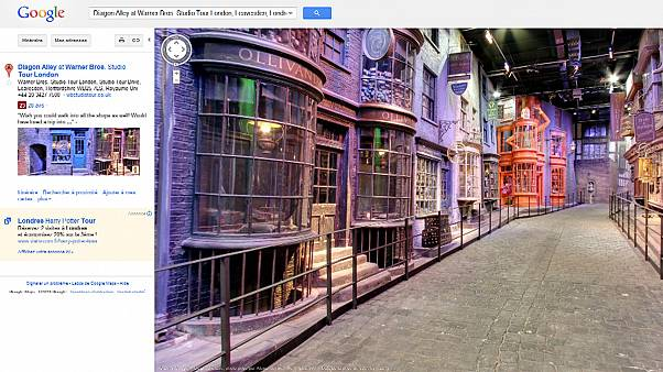 Google maps out the fictional world of Harry Potter | Euronews on