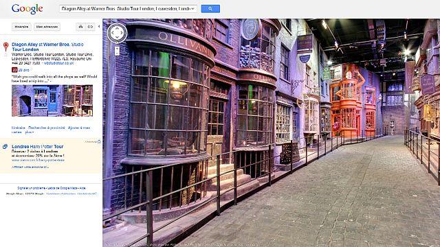 Google cartographie le monde fictif d'Harry Potter
