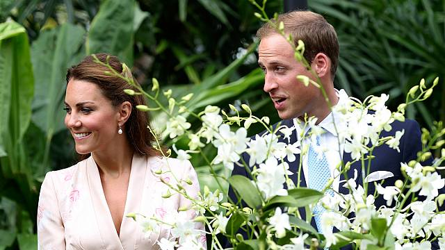Hunger games of Royal Baby festivities