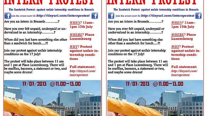 Brussels interns to go on strike