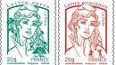 France: le nouveau timbre Marianne inspiré par la fondatrice des Femen