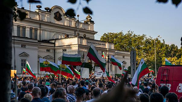 'Sick of being treated like monkeys' - Bulgaria's protesters speak out
