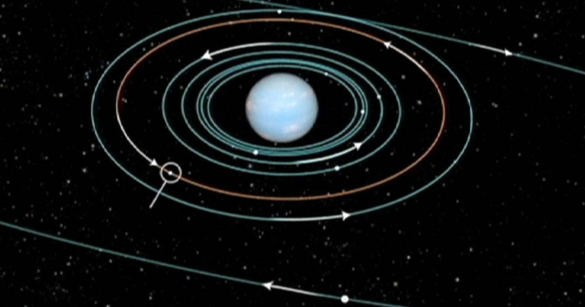 Neptune's 14 Moons - Pics about space