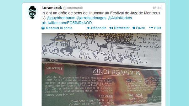 Grosse gaffe au Festival de Montreux : une photo du petit Grégory illustre une publicité