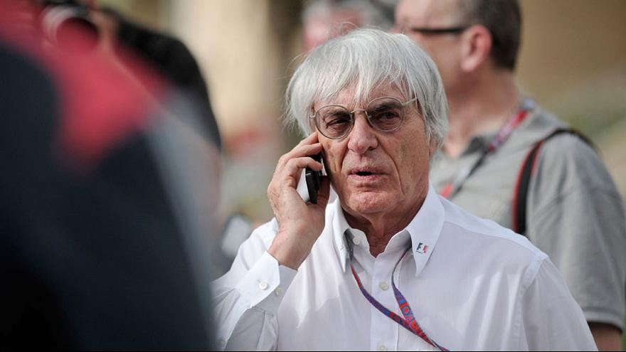 German prosecutors indict Bernie Ecclestone for alleged bribery