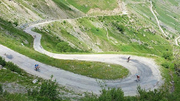 Tour de France : la Sarenne, descente de la peur