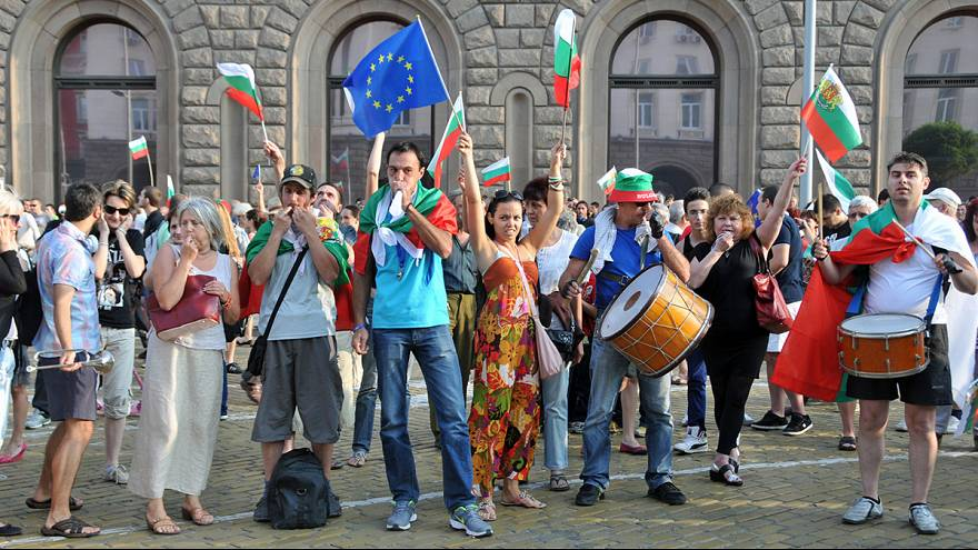 'Europe, where are you?' Bulgarian protesters appeal to the EU