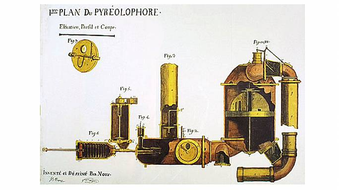 Rétromachine : Le Pyréolophore