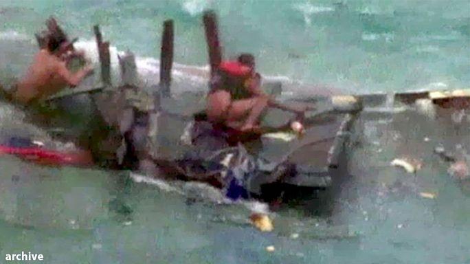 Un bateau avec 200 migrants à bord coule au large de l'Indonésie