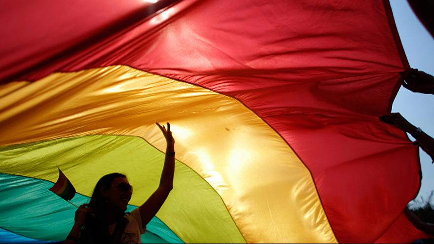 """Protesters chant """"kill the gays"""" as Montenegro's first Gay Pride turns violent"""