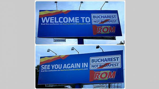 'Bucharest not Budapest!': Romanian campaign aims to end the confusion