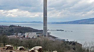 Scotland's tallest 'building' demolished -  Video