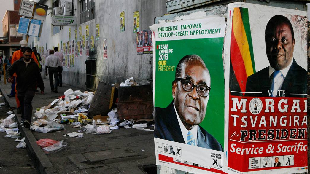 Zimbabwe facing an uncertain future as presidential election looms