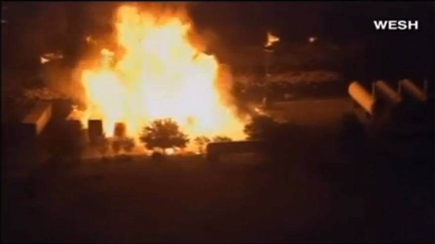 Flames at Florida Gas Plant After Explosion – 15 workers missing