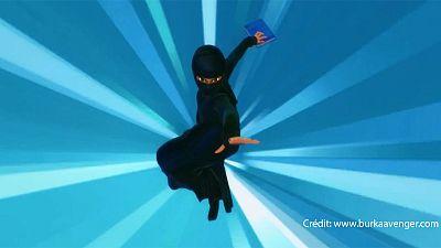 Burka Avenger: burka-wearing TV vigilante fights against extremism