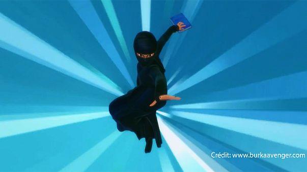 « Burka Avenger » : une justicière masquée ... en burqa