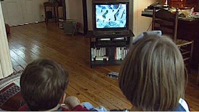 Parents: children copy your TV habits