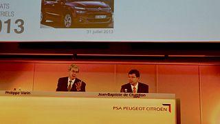 Peugeot Citroën riduce di metà le sue perdite