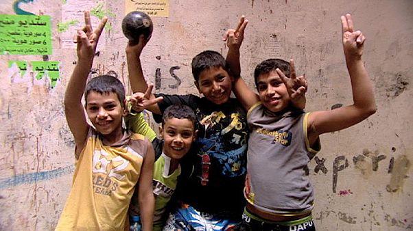 Palestinos de Siria, el doble exilio