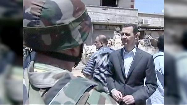 Syria: Assad defiant in face of continuing conflict