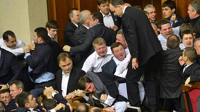 Punches in politics: when MPs come to blows